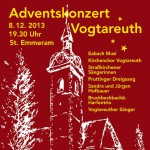 Vogtareuther Adventssingen 2013, © Orgelbauverein St. Emmeram