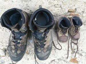 Schuhe groß und klein, © Florian Eichberger