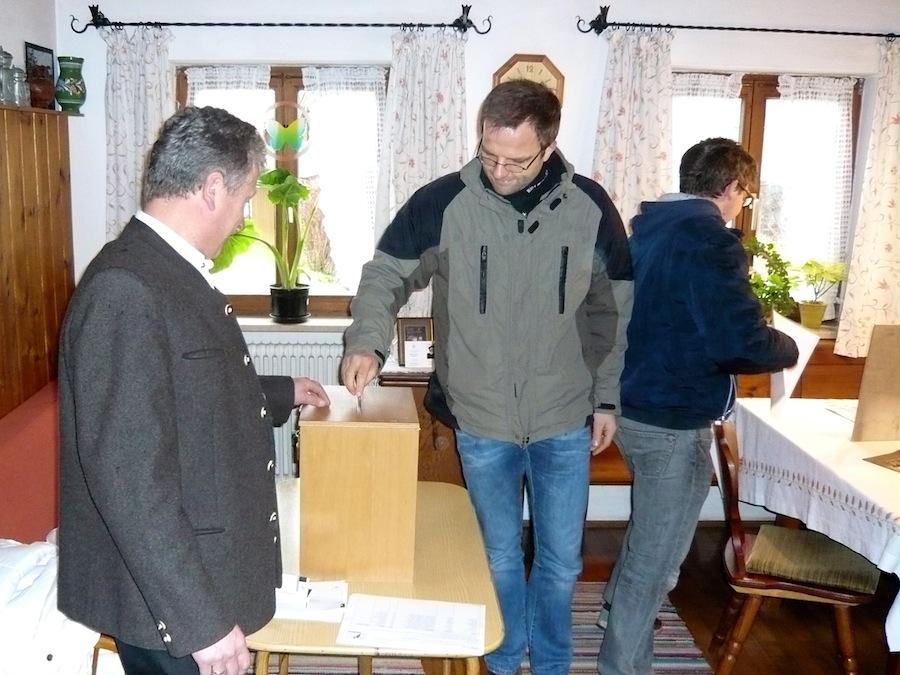 Pfarrgemeinderatswahl 2014: Landinger in Straßkirchen