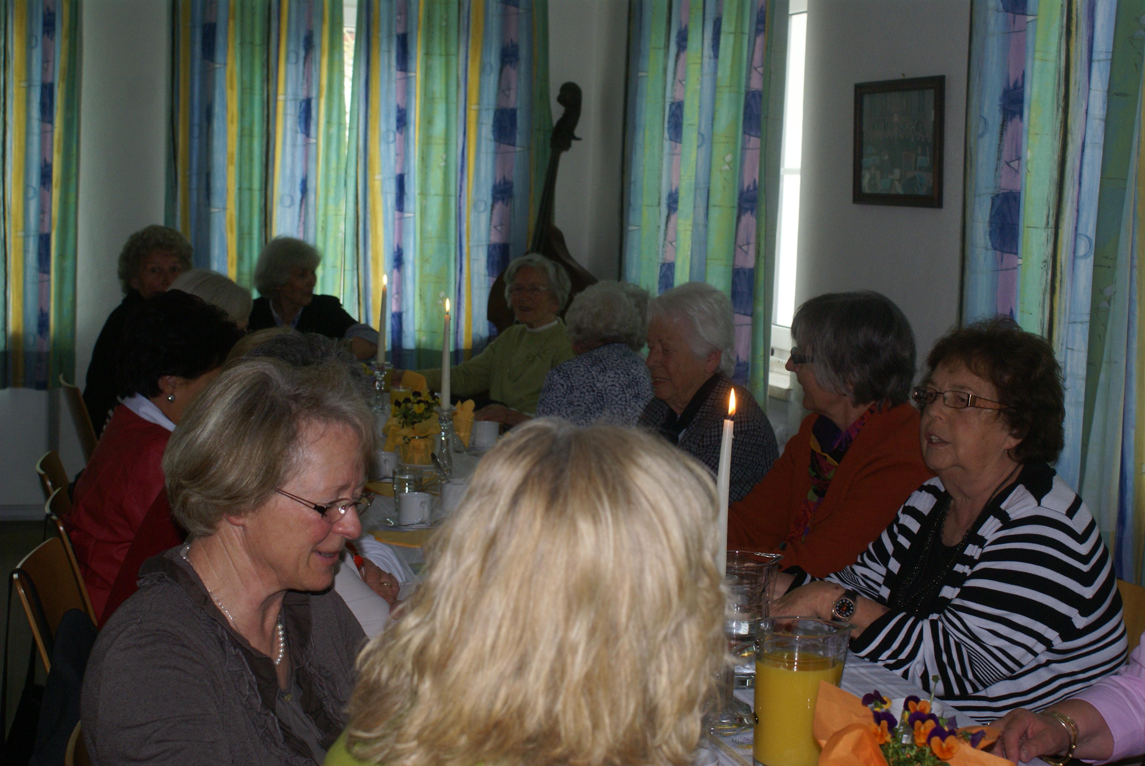 Jahreshauptversammlung der KFD Zaisering-Leonhardspfunzen 2014: Mitglieder