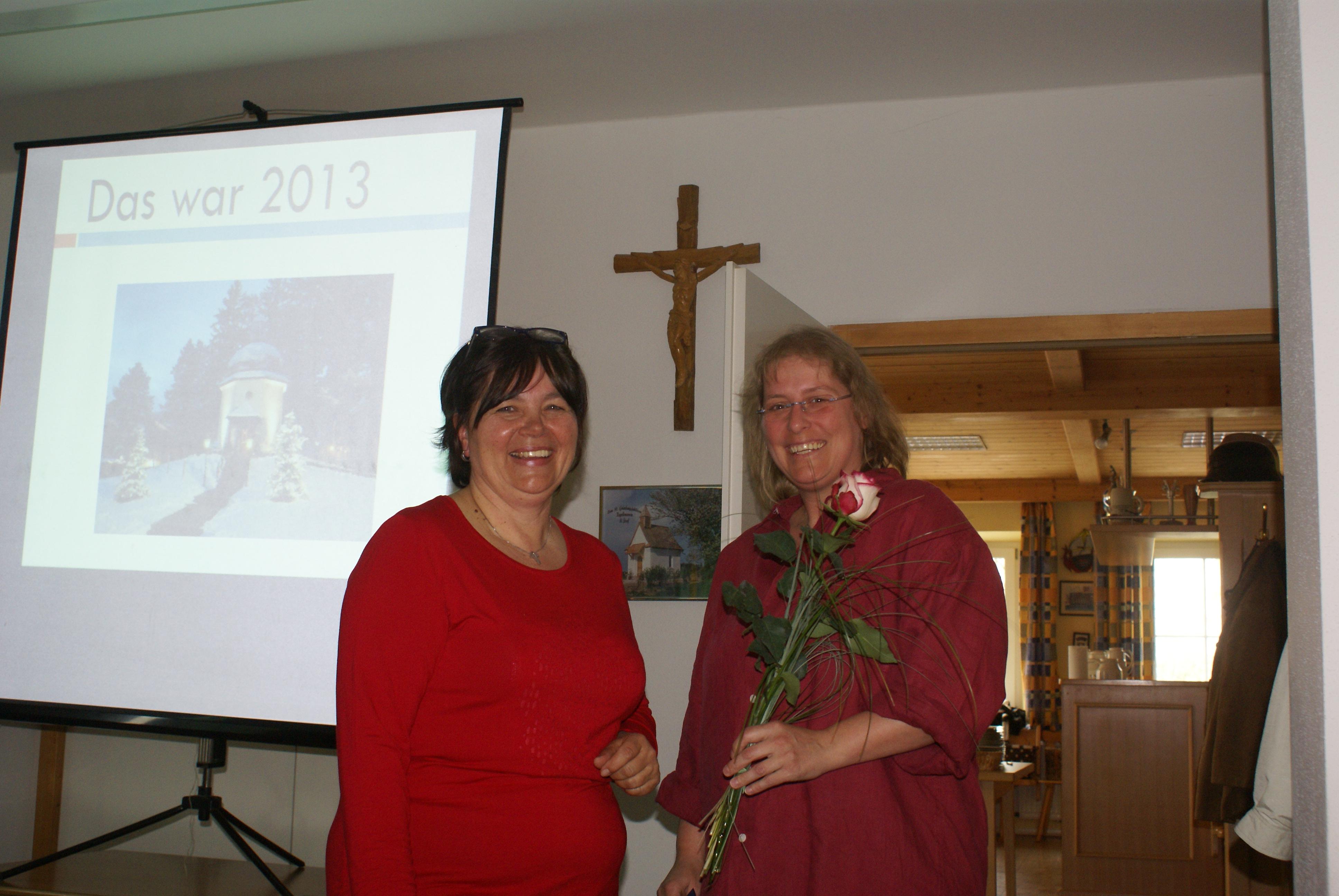 Jahreshauptversammlung der KFD Zaisering-Leonhardspfunzen 2014: Neue Mitglieder