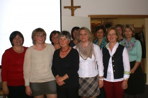 Vorstandschaft Frauengemeinschaft Zaisering Leonhardspfunzen 2014