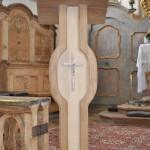 Der neue Ambo von St. Georg, Straßkirchen