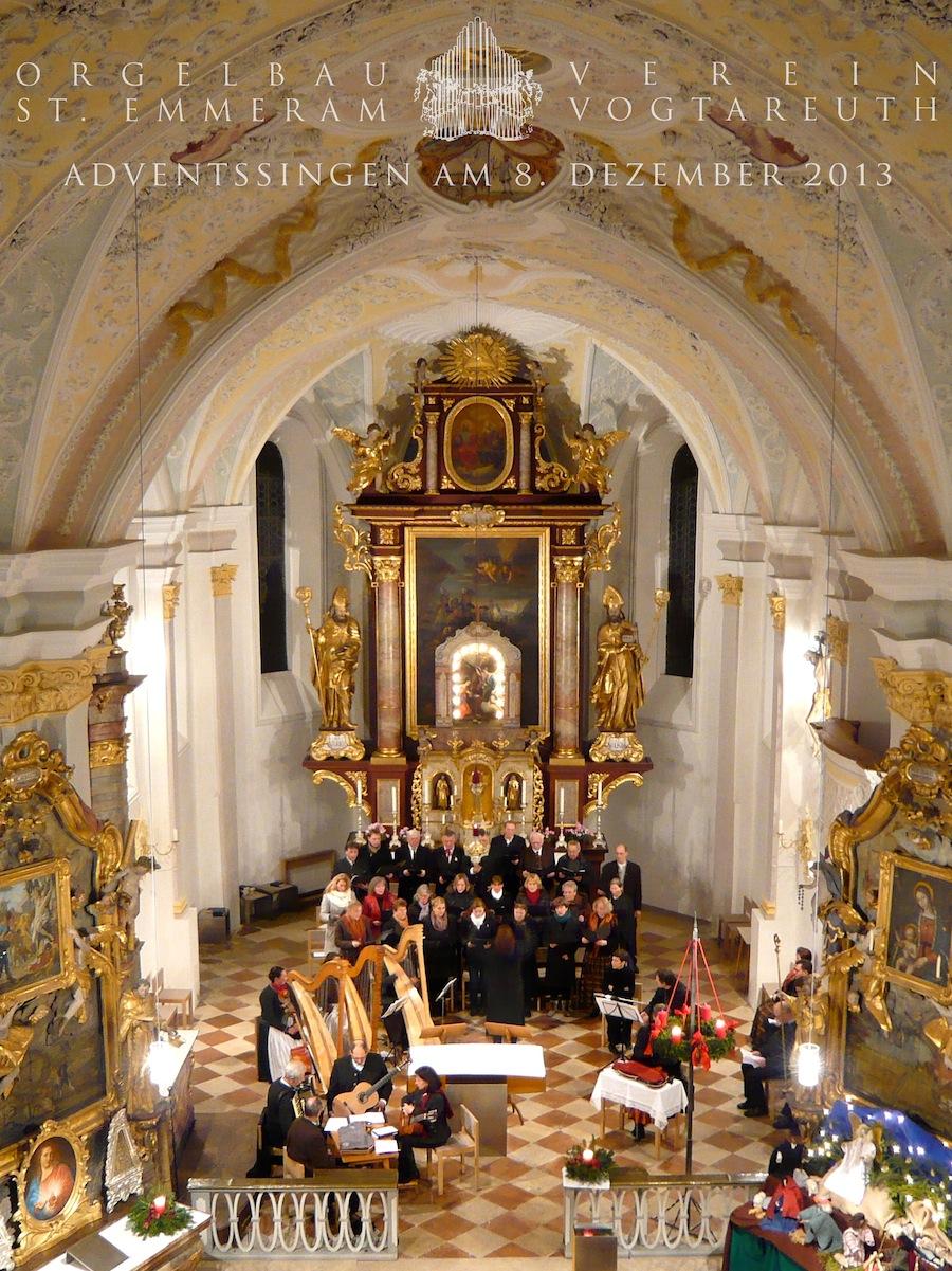 Orgelbauverein Vogtareuth - Adventskonzert 2013