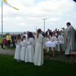 Festmesse zum 20. Jahrestag der Einweihung der Josefskapelle Aign am 1. Mai 2014