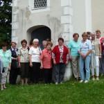 Gemeinschaft katholischer Frauen Vogtareuth: Radtour nach Teisenham, 6. Juli 2014