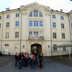 Auf der Stadtführung in der Hofburg