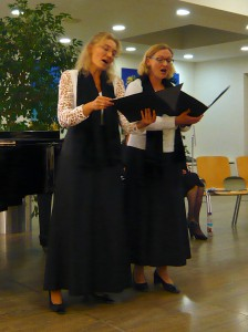 Christine Gaßner und Maria Weiß: Mein Liebeslied muss ein Walzer sein!