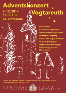 Adventssingen Vogtareuth 2014