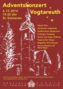 Adventssingen Vogtareuth 2014
