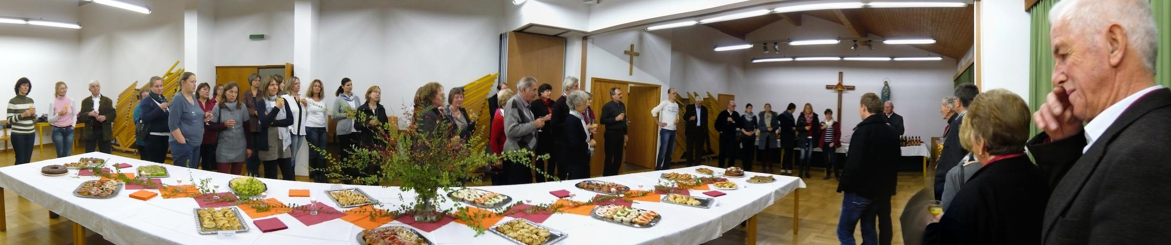 Cäcilienfeier 2014 im Pfarrheim Prutting