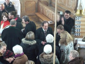 Sepp Rumberger zu Stephani 2014 an der Orgel in St. Georg
