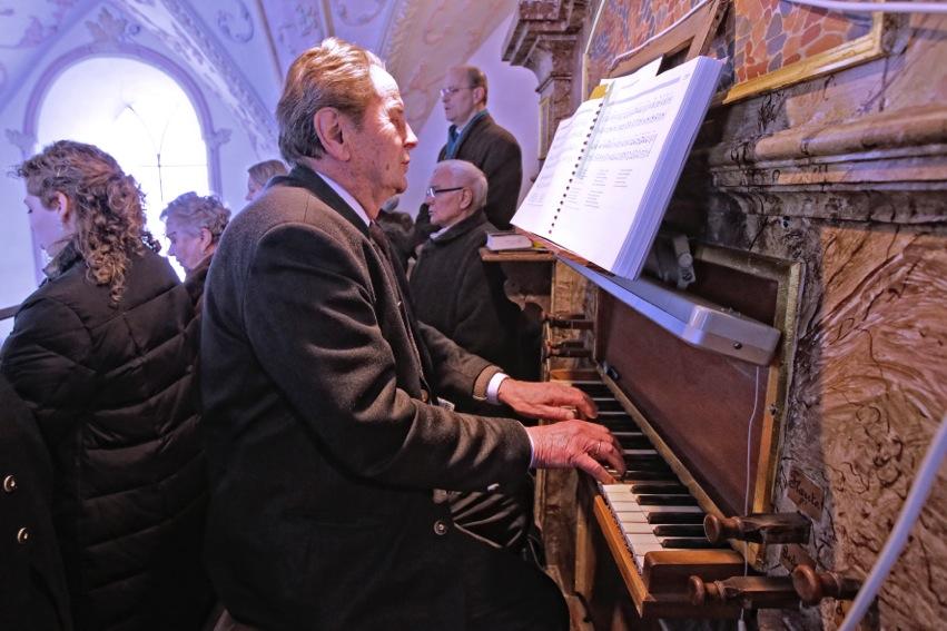 Sepp Rumberger: 70 Jahre Organist in St. Georg, Straßkirchen (Bild: © Martin Rumberger)