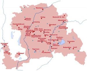 Diözesanrat der Katholiken der Erzdiözese München und Freising: Landkarte der Solidarität