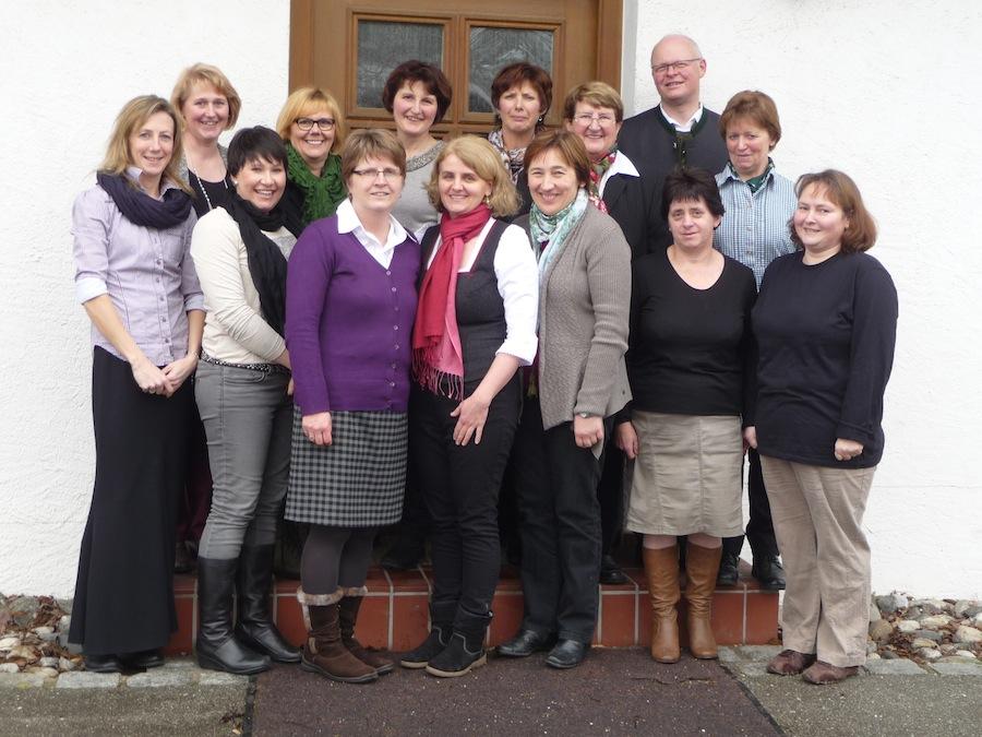Frauengemeinschaft Vogtareuth: Vorstand 2015