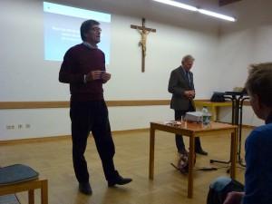 Der Islam im Westen – der Westen im Islam, Vortrag von Prof. Peter Graf im Pfarrheim Prutting am 22.1.2015: Vortrag