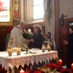 Verabschiedung von Anni Demmel nach 30 Jahren Dienst als Mesnerin in St. Peter, Schwabering