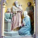 Josephsaltar St. Vitus, Zaisering (Detail)