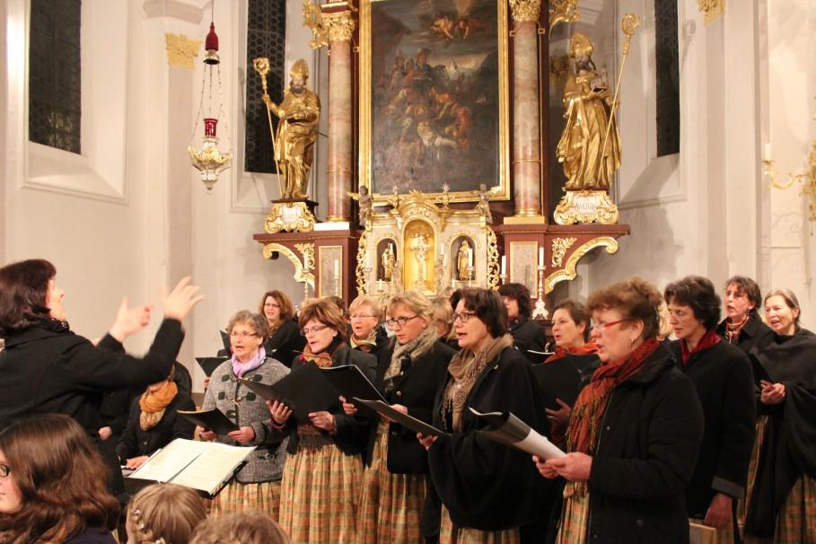 Passionskonzert Vogtareuth 2015: Frauenchor