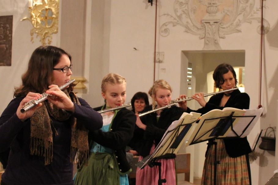 Passionskonzert Vogtareuth 2015: Flötenensemble