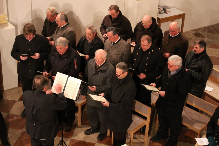 Passionskonzert Vogtareuth 2015: Männergesangsverein