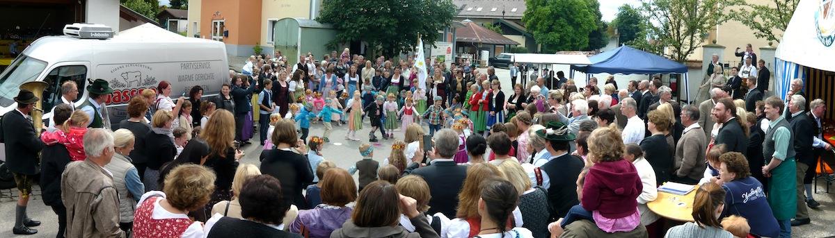 Pfarrfest und 40-jähriges Kindergartenjubiläum in Zaisering am 21.06.2015