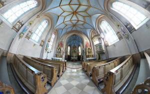 Innenpanorama von St. Peter, Schwabering