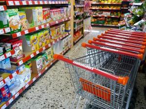 Nahkauf Wimmer, Prutting: Einkaufswagen