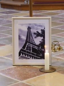 Eiffelturm in Prutting: Glaubensbekenntnis zu Frieden und Gerechtigkeit