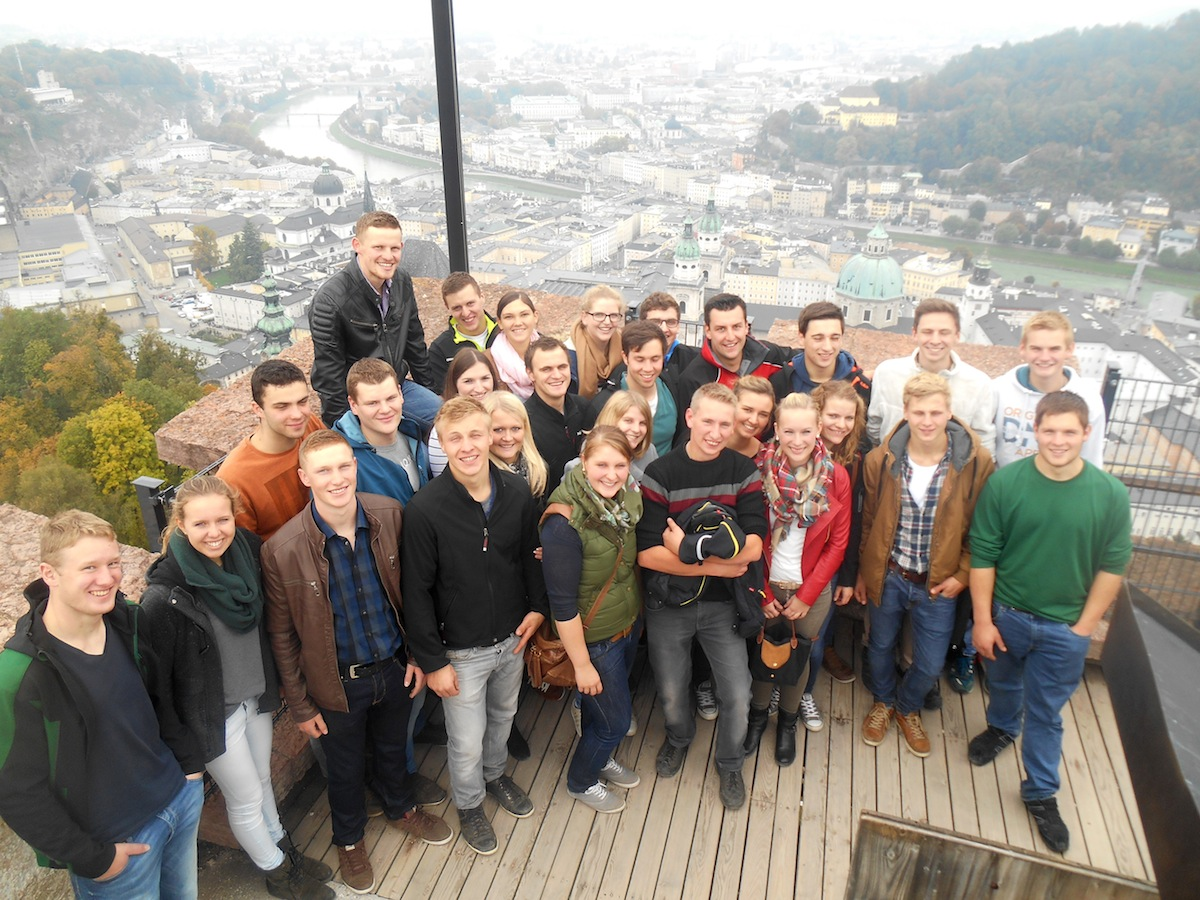 Ausflug der KLJB Vogtareuth nach Salzburg 2015