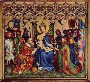 Stefan Lochner: Anbetung der Könige