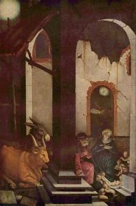 Hans Baldung (Grien): Geburt Christi