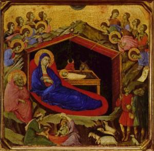 Duccio di Buoninsegna: Geburt Christi