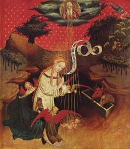 Meister Francke: Thomasaltar, Geburt Christi