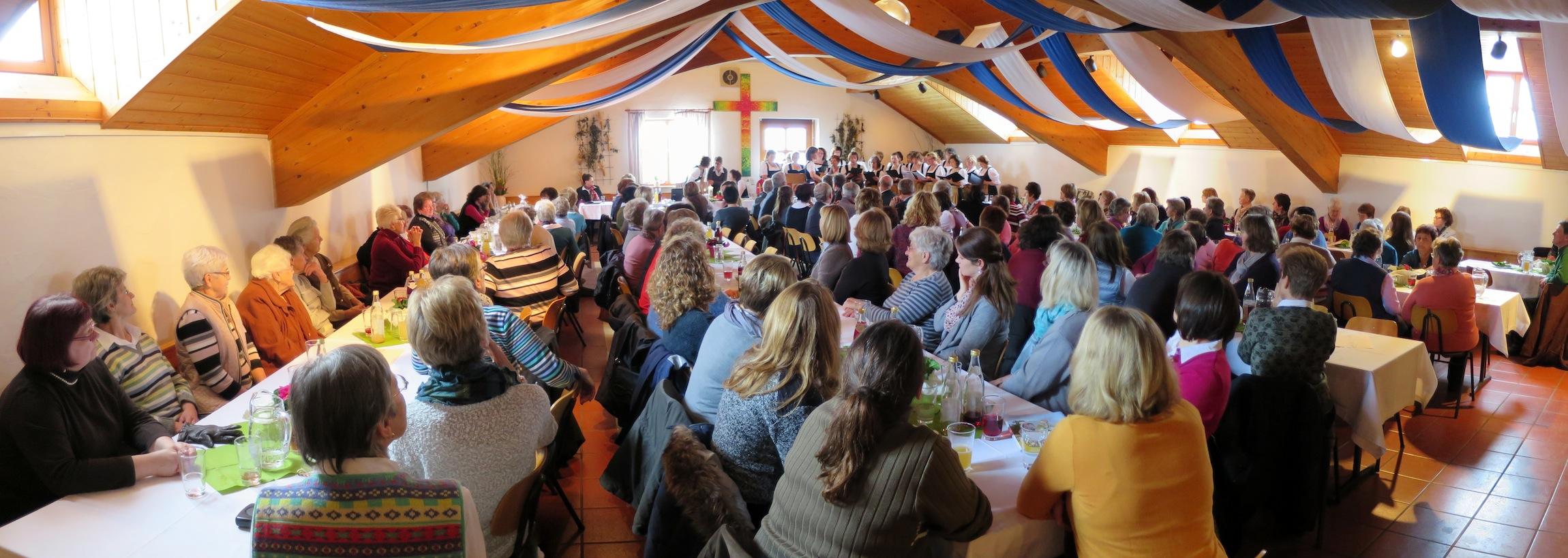 90-Jahrfeier der Gemeinschaft katholischer Frauen Vogtareuth