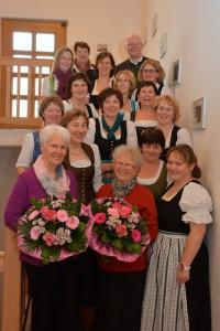 90 Jahre Frauengemeinschaft Vogtareuth: Gruppenbild