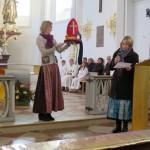 90 Jahre Frauengemeinschaft Vogtareuth: Gottesdienst