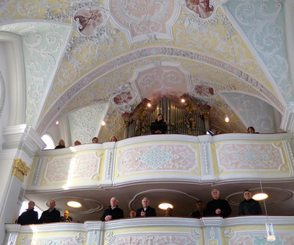 90 Jahre Frauengemeinschaft Vogtareuth: Dank an die Orgelempore