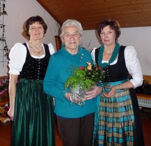 90 Jahre Frauengemeinschaft Vogtareuth: Maria Landinger