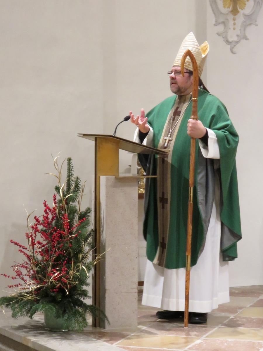 WGF-Beauftragung 2016: Weihbischof Wolfgang Bischof