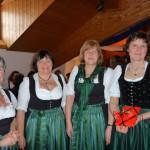 90 Jahre Frauengemeinschaft Vogtareuth: Glückwünsche der Zaiseringer Frauen