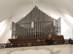 Organissimo Prutting 2016: Applaus für die Orgelempore