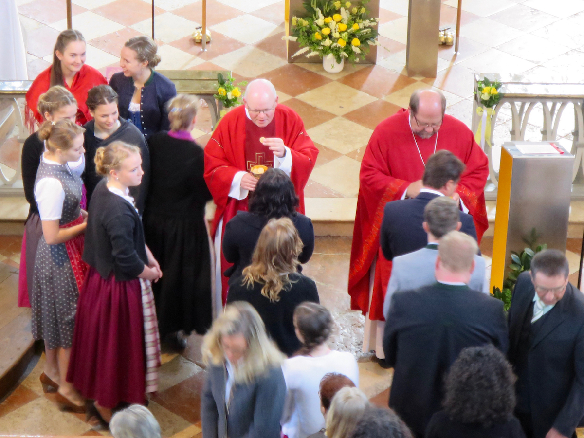 Firmung Vogtareuth 2016: Kommunion