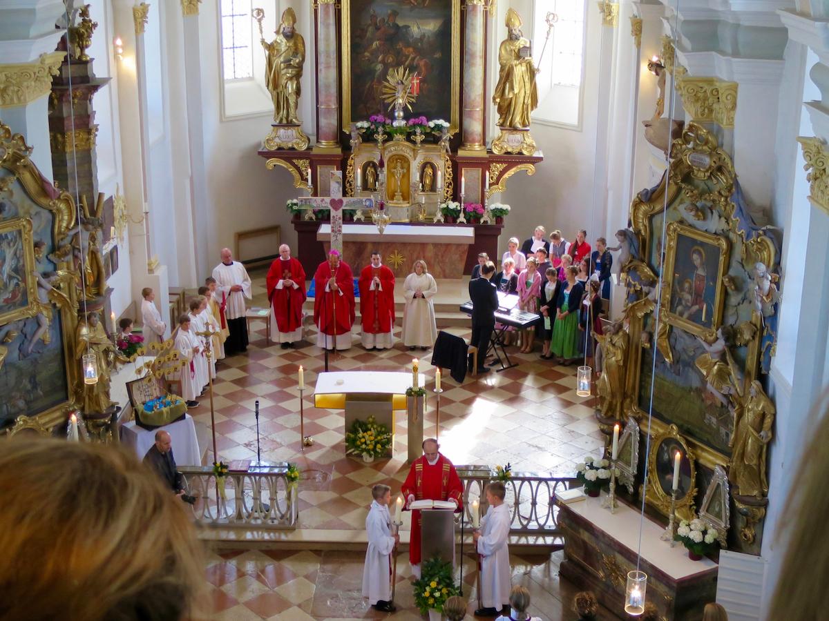 Firmung Vogtareuth 2016: Evangelium