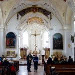Firmwallfahrt 2016: Beginn in der Kirche in Heiligenstatt