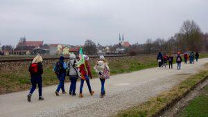 Firmwallfahrt 2016: Erste Fußwallfahrt 2016 auf Altötting