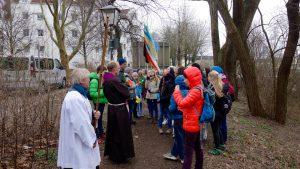 Firmwallfahrt 2016: Empfang durch Pater Andreas