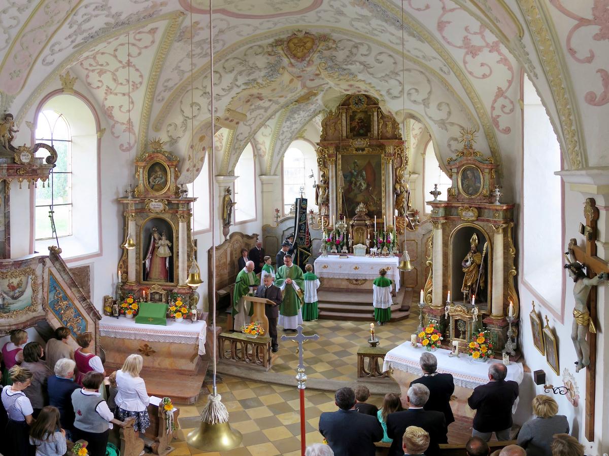 Abschluss der Außenrenovierung von St. Georg, Straßkirchen: Rechenschaftsbericht
