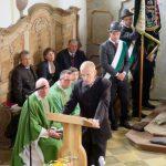 Abschluss der Außenrenovierung von St. Georg, Straßkirchen: Architekt Walter Stolz