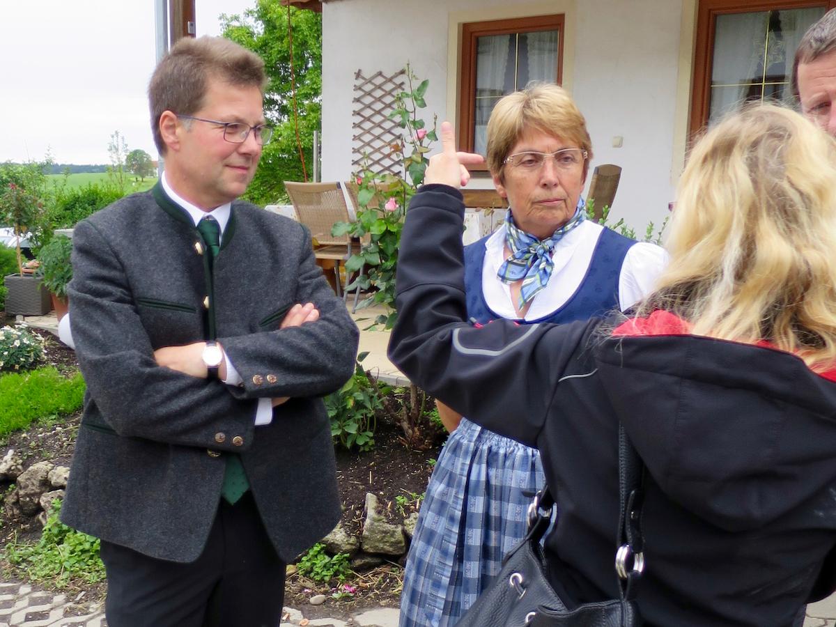 Abschluss der Außenrenovierung von St. Georg, Straßkirchen: Kirchenverwaltung Zaisering